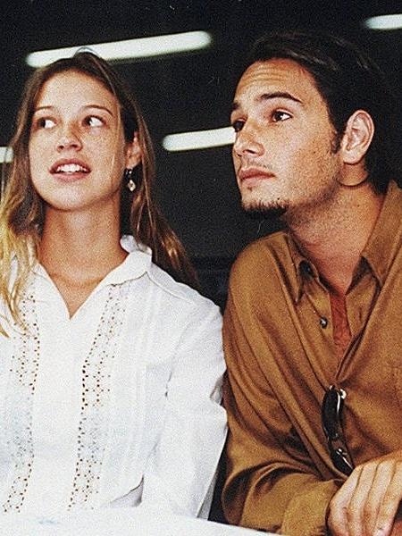 Luana Piovani e Rodrigo Santoro em 1999 - Folhapress