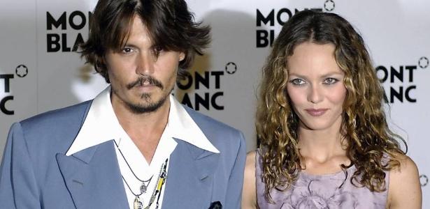 Johnny Depp e Vanessa Paradis anunciaram a separação em junho de 2012