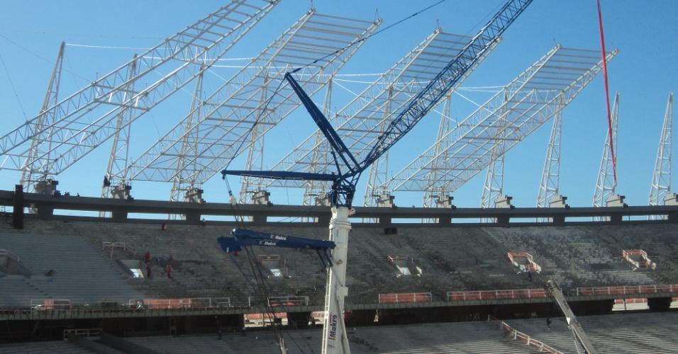 Obras no Castelão (CE) atingem 80% de conclusão em julho de 2012