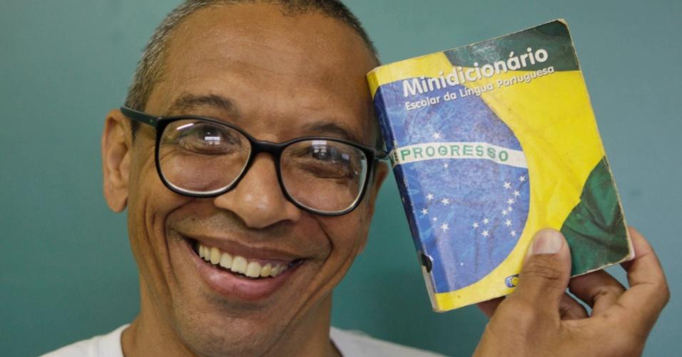 Venilton Leonardo Vinci, 52, está a mais tempo no curso de licenciatura em pedagogia e deve se formar em 2013