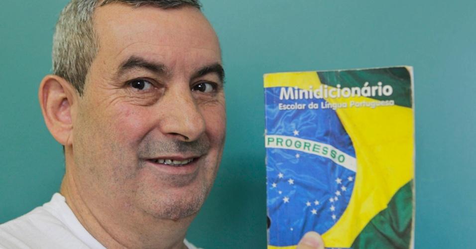 Benedito Paulo Reis, 52, foi para o segundo semestre da licenciatura em pedagogia