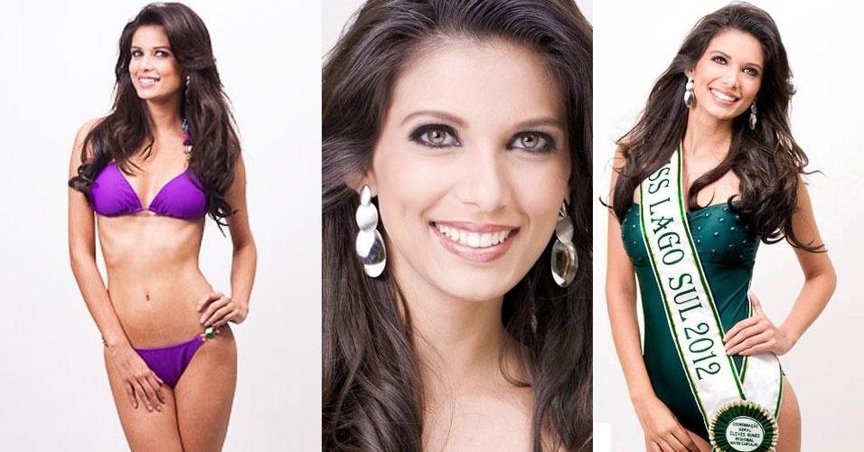 3.jul.2012 - Representante de Lago Sul, Tamires Rodrigues, vence o Miss Distrito Federal 2012 e vai disputar o título de Miss Brasil Universo 2012