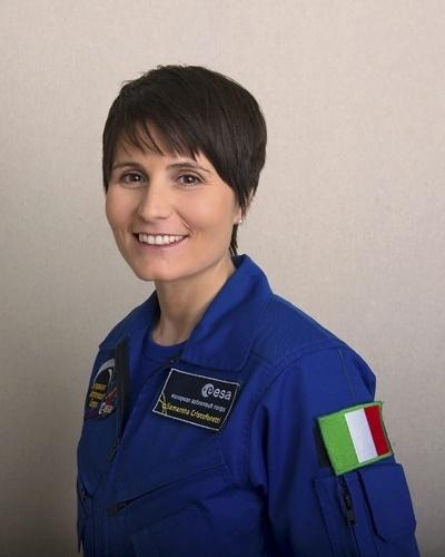 3.jul.2012- A astronauta italiana Samantha Cristoforetti partirá para a Estação Espacial Internacional em novembro de 2014 a bordo da nave russa Soyuz. A missão terá duração de 6 a 7 meses