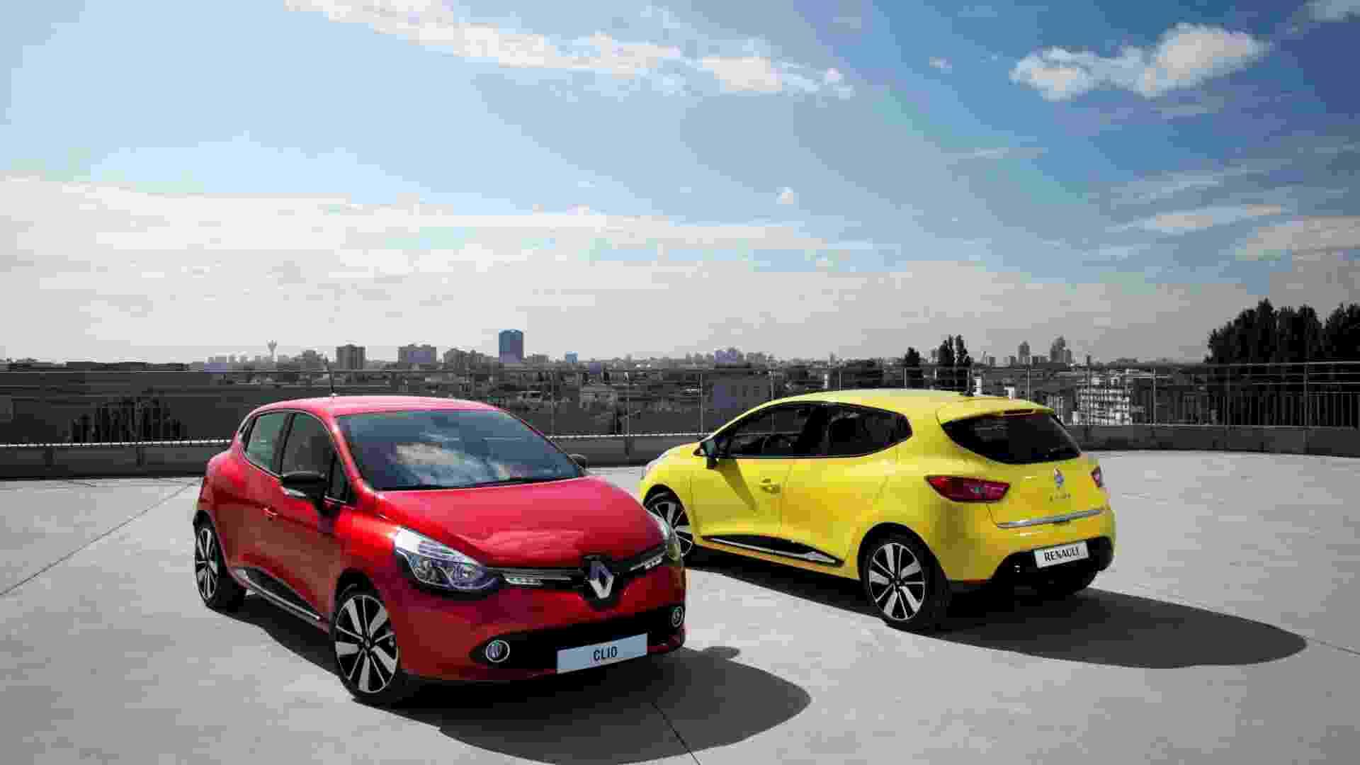 A Renault apresenta a 4ª geração do compacto Clio; por ora, será feita na França e na Turquia e exclusiva da Europa - Divulgação