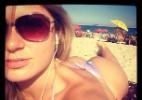 Ex-BBB Renata D?ávila divulga imagem tomando sol em praia do Rio - Reprodução/Instagram