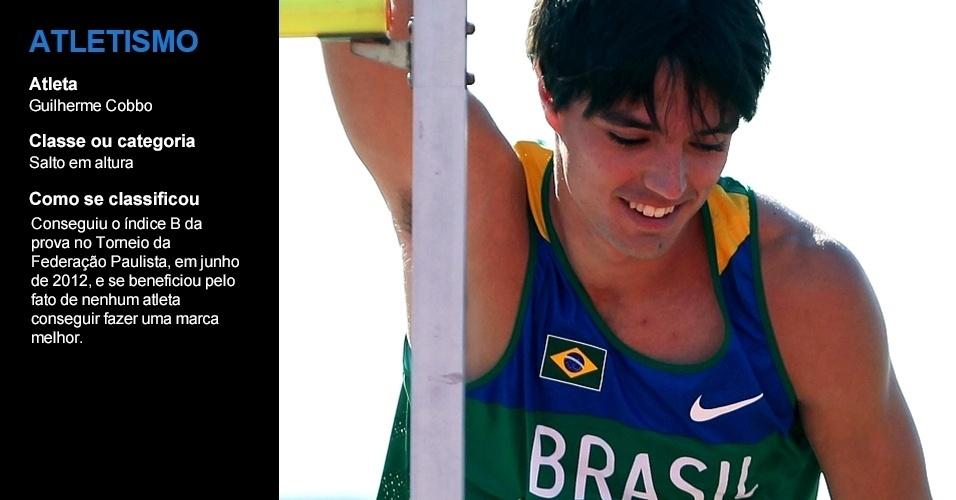 Guilherme Cobbo, atletismo