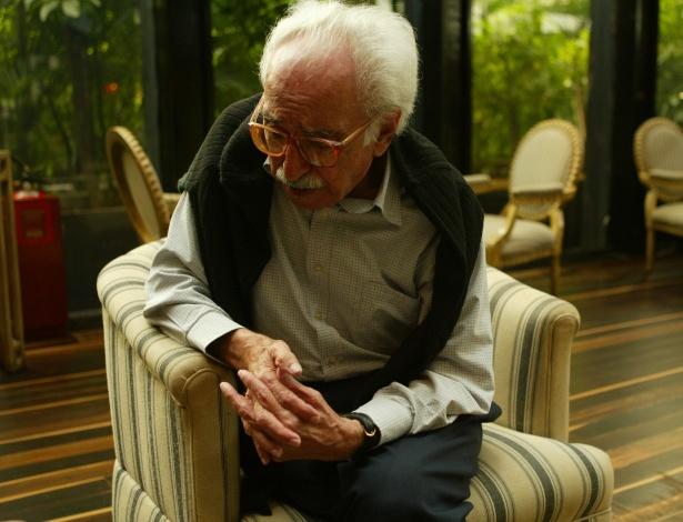 O poeta Manoel de Barros, que morreu nesta quinta, aos 97 anos - Tuca Vieira/Folha Imagem