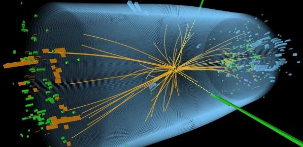 O Centro Europeu de Pesquisa Nuclear (CERN) anunciou em julho de 2012 a descoberta de uma nova partícula, que pode ser o procurado Bosón de Higgs - AFP