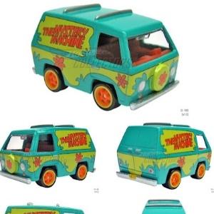 """A """"Máquina de Mistério"""" do desenho Scooby-Doo ganha versão em miniatura para colecionadores - Reprodução"""
