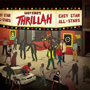 """Capa de """"Easy Star""""s Thrillah"""", da banda Easy Star All Star - Reprodução"""