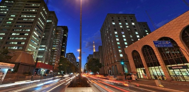 A avenida Paulista já teve sua velocidade reduzida de 70 km/h para 60 km/h em julho de 2011