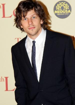 """Jesse Eisenberg na premiere de """"Para Roma, com Amor"""", em Roma, na Itália (13/4/12) - Getty Images"""