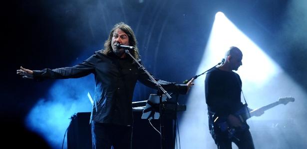 Lenine se apresenta em show em Paraty durante a Flip 2012 (4/7/12) - Remy Gabalda/AFP
