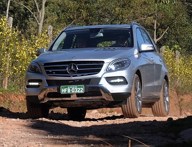 Mercedes-Benz ML 350: versão única traz megaconteúdo de conforto e segurança - Murilo Góes/UOL