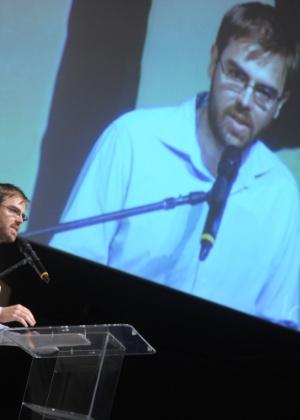 O curador da Flip, o jornalista Miguel Conde, na abertura do festival (4/7/12) - Flavio Moraes/Fotoarena