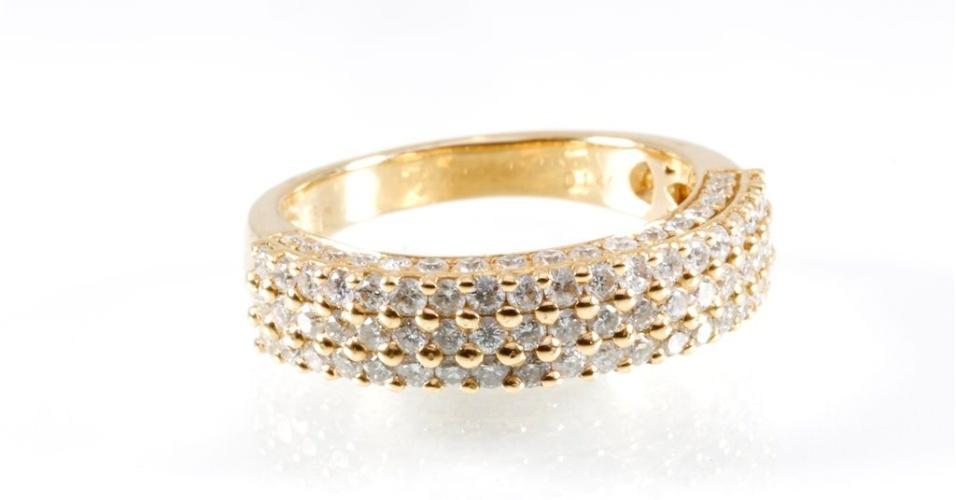 Aliança de diamantes da joalheria Elisabete Gaspar (www.elisabetegaspar.com.br)