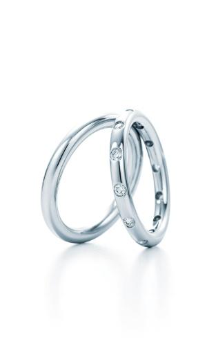 Par de alianças de platina da joalheria Tiffany (www.tiffany.com ou 11 3815-7000)