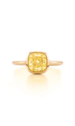 Aliança de noivado com diamante amarelo da joalheria Tiffany (www.tiffany.com ou 11 3815-7000)