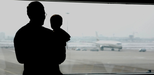 O bebê pode viajar de avião, mas cuidados devem ser tomados; veja dicas dos especialistas - Thinkstock