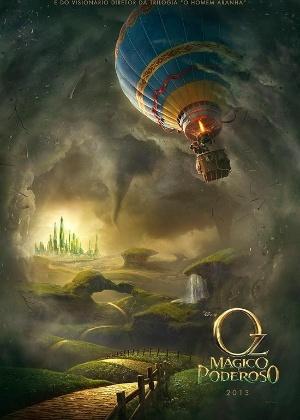 """Cartaz de """"Oz: Mágico e Poderoso"""" - Divulgação"""