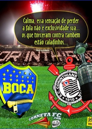 Corneta FC: Corinthians ganha a Libertadores e cala a boca dos antis