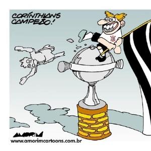 Corneta FC: A Libertadores é do bando de loucos!