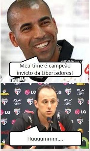 Corneta FC: Emerson tenta tirar sarro de Rogério Ceni e se dá mal