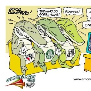 Corneta FC: O sonho de todos os rivais não acontece,e 'lágrimas de crocodilo' caem dos antis