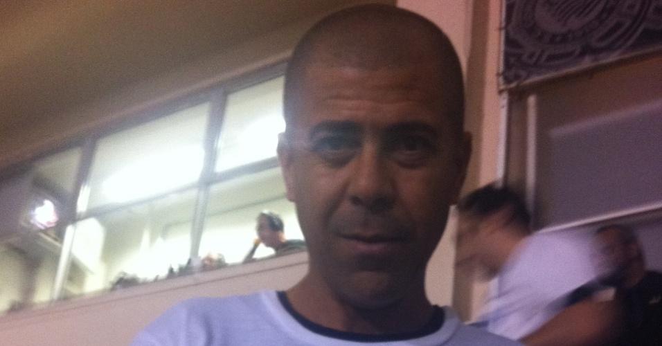 Irmão de Emerson Sheik esteve no Pacaembu para a final da Libertadores