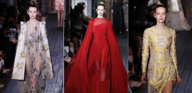 Looks da Valentino para o Inverno 2012 na semana de alta-costura de Paris (04/07/2012) - Reuters/AP/Reuters