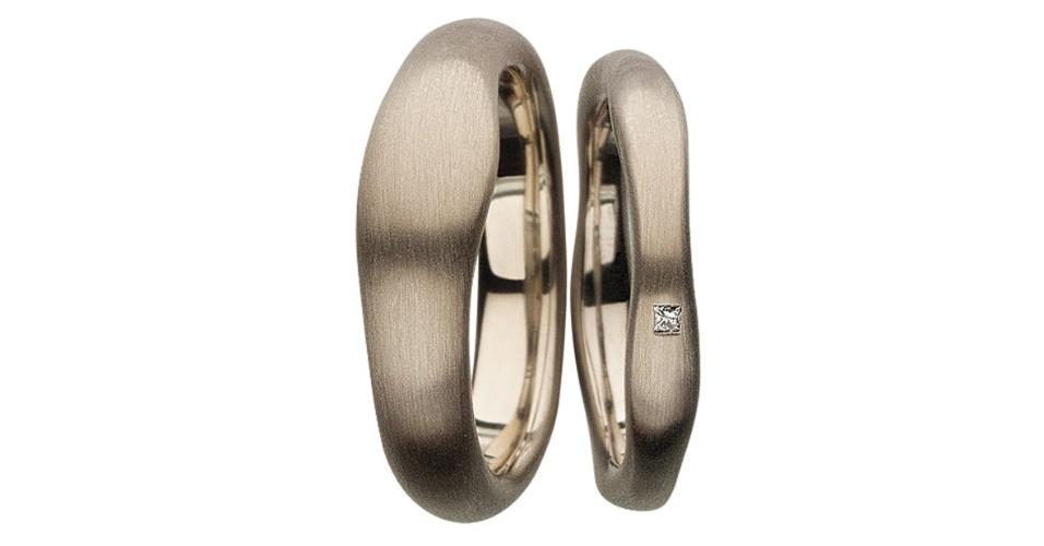 Par de alianças Noble Gold Bands da joalheria H. Stern (www.hstern.com.br)