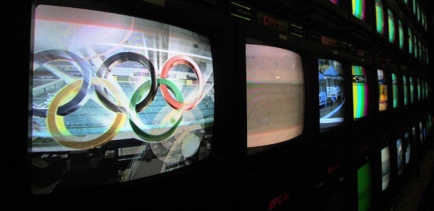 Transmissão de TV das Olimpíadas