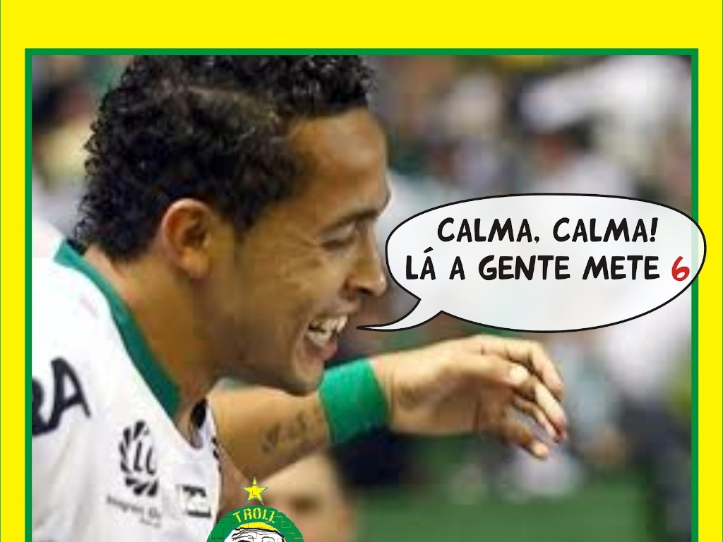 Corneta FC: Muita calma nessa hora!