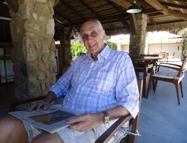 Escritor Zuenir Ventura na Flip 2012 (6/7/12) - Mariane Zendron / UOL