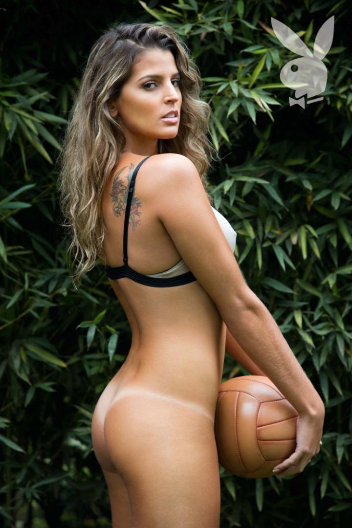 """""""Playboy"""" divulga nova foto do ensaio de Mari Paraíba, capa de julho da publicação (6/7/2012)"""