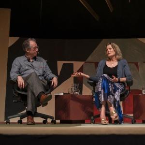 """O escritor inglês Ian McEwan e a escritora norte-americana Jennifer Egan participam da mesa """"Pelos olhos do outro"""", no início da tarde deste sábado (7), na Flip 2012, em Paraty (7/7/12) - Walter Craveiro/Divulgação"""