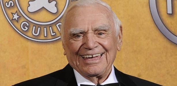 Ator Ernest Borgnine morreu neste domingo (8/7) aos 95 anos de insuficiência renal em Los Angeles
