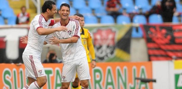 Fred e Thiago Neves são amigos desde os tempos de Fluminense