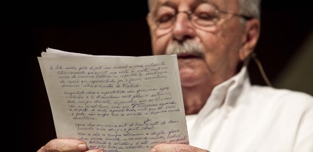 Francisco Dantas durante o último dia da Flip (8/7/2012) - Adriano Vizoni/Folhapress