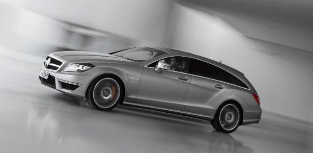CLS 63 AMG Shooting Brake surgiu como conceito em 2010 e deve ir às ruas no final de 2012 - Divulgação