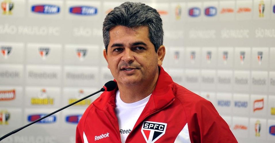 Ney Franco é apresentado no São Paulo como novo treinador