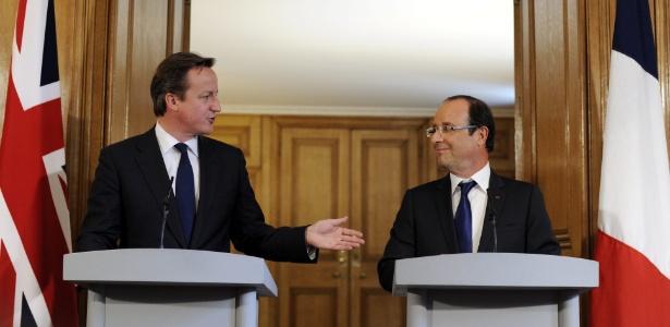 Cameron quer apoio para ataques na Síria em duas semanas, diz jornal - Facundo Arrizabalaga/EFE