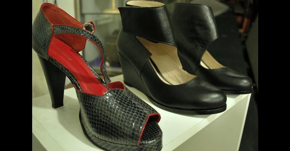 Calçados feitos na Fascinante, em SP