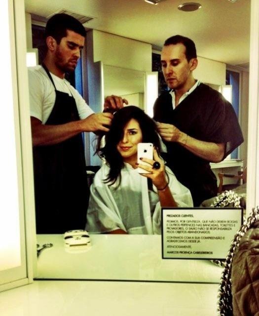"""Fernanda Paes Leme muda o visual para """"Salve Jorge"""" (9/7/2012)"""