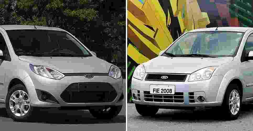 Fiesta Rocam 2011 e seu antecessor - Divulgação