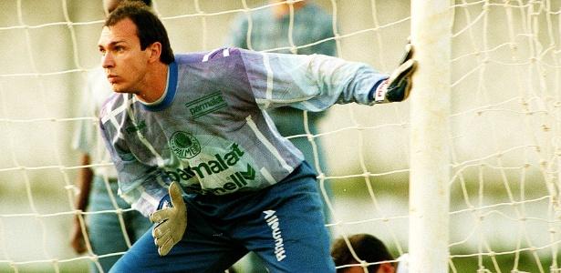 Velloso defendeu a meta do Palmeiras na vitoriosa campanha do Paulistão de 1996