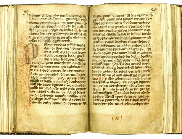 """Manuscrito em galês """"As leis de Hywel Dda"""" é leiloado por R$ 1,3 milhão em leilão de Londres - EFE"""