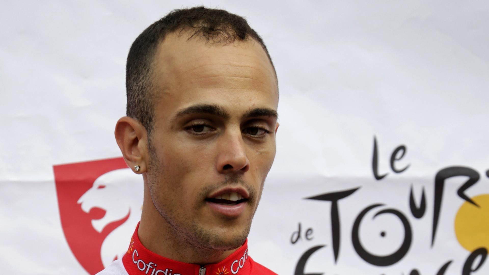 Remy di Gregorio, ciclista francês que foi detido durante a Volta da França de 2012 por envolvimento com um caso de doping. No flagrante, as autoridades não deram detalhes do caso