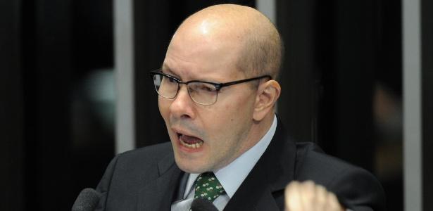 Demóstenes Torres (ex-DEM, sem partido-GO) - Evaristo Sá 11.jul.2012 -/AFP