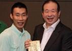 Magnata da Malásia promete 630 mil dólares por ouro olímpico no badminton - Mohd Rasfan/AFP